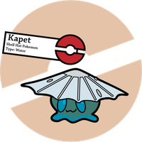 Fake Pokemon: Kapet by Sageroot