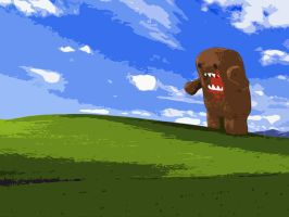 Domo-Kun Bliss XP by sillyporean