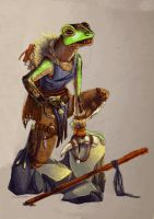Griplli Savage Skald Bard by A-Fearsome-Artisan
