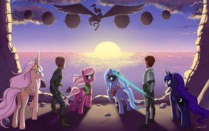 Commission: The Other Side of the Spectrum by Kare-Valgon