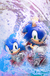 Sonic generations wallpaper for the ipod by Dreamtabloid
