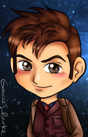 Tenth Doctor by scr3aam3r