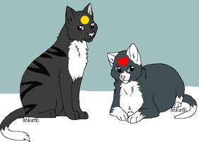 Scarpaw and Rabbitpaw Assignment 2 by FluffehSabex