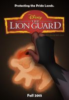 The Lion Guard Movie Poster By Panther85 by hey101hey