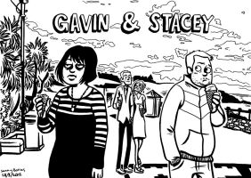 Gavin And Stacey by black-rider