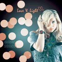 Love Light Kesha by bluezircon-graphics