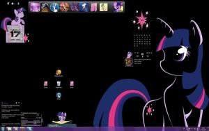 Twilight Sparkle Desktop by Kraurion