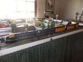 Santa Fe Reefer Train 1 by SouthwestChief
