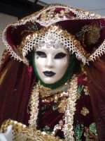 venetian carnival mask by monik05