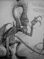My interpretation of the Jabberwock by christobet