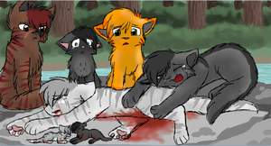 The Death of Silverstream by CascadingSerenity