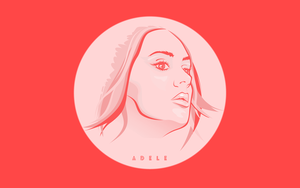 Adele wallpaper by f1rstZomb1e