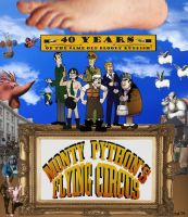 40 Years of the Flying Circus by Gonzocartooncompany