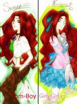 The Twins by Serene-SimpliciT