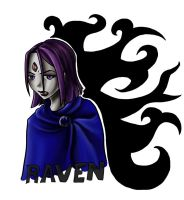 Simple Raven by LadyProphet
