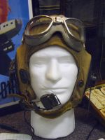 Aviator Cap and Goggles by FoxStox