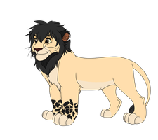 Male Lion Adoptable 8 - CLOSED - by Soufroma