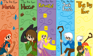 the big four bookmark by twinscover