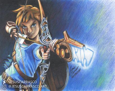 Breath of the colour pencils by JesusCarrasco