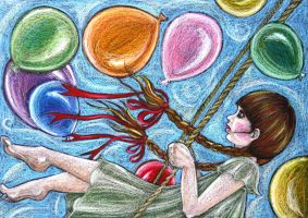 innocence of balloons by mohitaheri