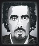 Al Pacino by puzzleheaded