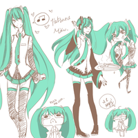 Vocaloid Fanart by Bunbae