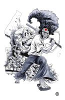 Afro Samurai - Afro by BrettBarkley