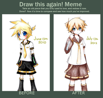 [Traditional] Improvement meme by giannysuki