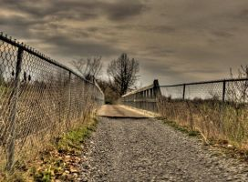 Philadelphia NY Trail HDR by Lectrichead