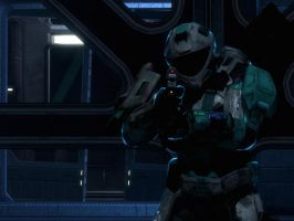 Halo Reach: Stand your ground by purpledragon104