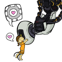 Portal: Companions PNG by oddsocket