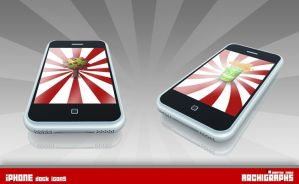 Archigraphs iPhones Dock Icons by Cyberella74