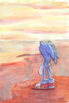 Sonic watercolors by amyrose7