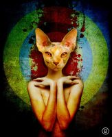 Sphinxlady by BrusselsGraphic