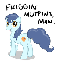 Request: Muffin-themed Pony by hlavco