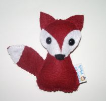 Little Red Fox Plushie by kiddomerriweather