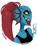 Undyne by LiLaiRa