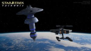 301 10 Approach spacedock by VSFX