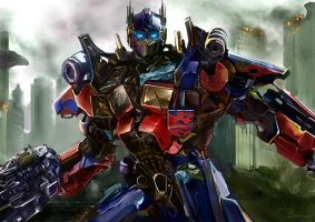 Transformers 3 by Bowkl