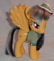 Custom Fashion Style Daring Do with Removable Hat by Gryphyn-Bloodheart