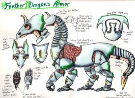 Trade: Feather Dragon's Armor by Ceruulean