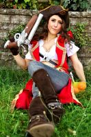 Miss Gangplank: Captain of the Dead Pool by MowkyCosplay