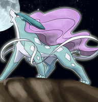 suicune by nganlamsong
