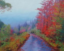 Misty Road by G.Gercken by artsaus