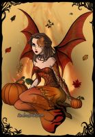 Fall Fairy by Amykat12