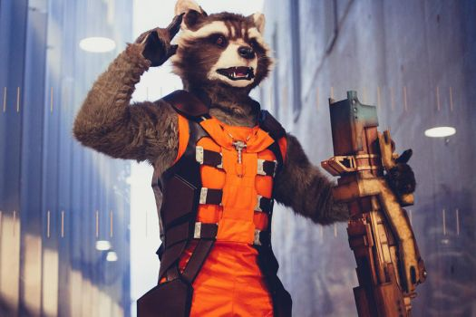 Rocket Raccoon by Shoko-Cosplay