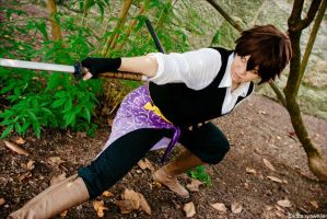 Hakuouki: Captain of the Eighth Divison by rose-of-battle