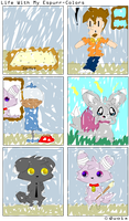 Life with my Espurr-Colors by Quoix