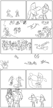Twipsy Company Page 2 trailer sketch by NoxiaPrime