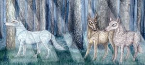 The Timber Wolves- Detail by nellmckellar